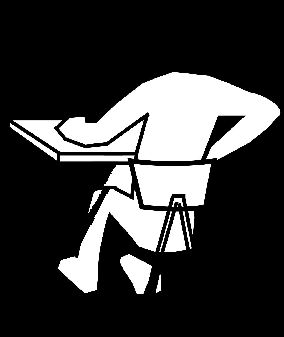sitting pain image